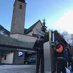 """Montagearbeiten für neue """"robiclean-Abfall-Entsorgungssystembehälter"""""""