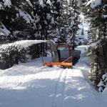 Spazierweg Zug - Lech auffräsen...
