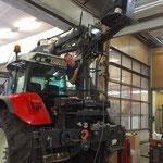 Traktorkranservice am Steyr 6190 CVT