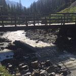Gewitterschäden Wieselebrücke