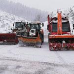 Mittagspause für L550, Steyr 6200 CVT und U530