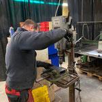 Konsolen konstruieren für Beleuchtungsdepot Skiweltcup Zürs