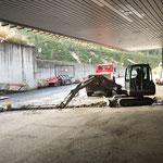 Grabungsarbeiten Bauhof-Vorplatz