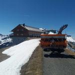 Fräsarbeiten mit L509: Kriegerhorn für Wildbach