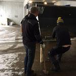 Schürfleiste Schaufel L524 reparieren