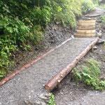 Wegsanierung Wasserfallweg Zug
