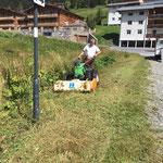 Mäharbeiten in Stubenbach