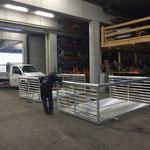 Montage und Konstruktion Transporträder an Fußballtoren neu