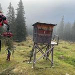 Forstarbeiten Richtung Johannestal...