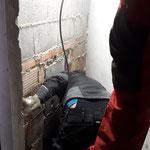 Rüfigarage, Kanalreinigung Damentoiletten
