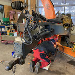 Service- und Reparaturarbeiten Westa-Hängerfräse