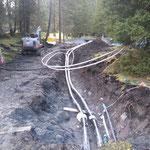 Neubau vordere Butzenbrücke: Heizleitungen neu verlegen