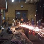 Flexarbeiten für Hydraulik Raupentransporter