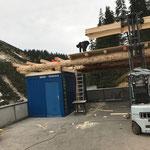 Montage Bauhof-Flugdach-Dachdeckarbeiten