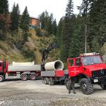 Rohrtransport Rudtobel-Zuger Säge, mit U1600...