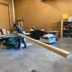 Steher für Geländer fertigen in der Tischlerei