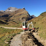 Wasserleitung verlegen Auenfeldsattel-Karbühel