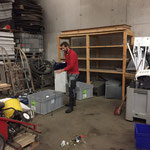 Elektroschrott Sortierung für Caritas-Projekt Carla