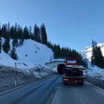 Snow Rabbit 3 Transport Richtung Bauhof
