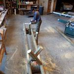 Neugestaltung Handlauf Kneippbecken