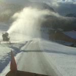 Drittleistung für Baustelle Oberlech, Schneeräumung für Zufahrt