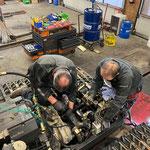 Reparaturarbeiten PB 100