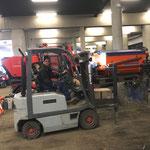 Bauhofgarage aufräumen und gerätetechnisch für Sommerbetrieb vorbereiten