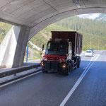 U530, Klärschlammtransport für Abwasserreinigungsanlage
