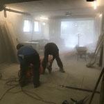 Umbauarbeiten im Feuerwehrhaus