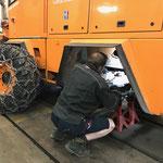 Federstock reparieren Rolba 600