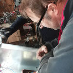 Reparatur Weidezaungerät für Waldschonungen