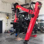 Krankonsolenaufbau Steyr Traktor neu in Oberösterreich