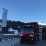 Unimog 530, Klärschlammtransport nach Lustenau