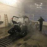 Fahrzeugpflege Polaris Quad