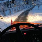 Unimog 1600 mit Pflug am Tannberg