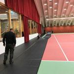 Umbau Tennisplatz Nr. 1