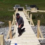 Brücken-Neuaufbau Älpele