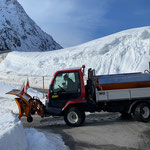 Streudienst mit Lindner Unitrac in Zug