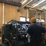 Mithilfe Fräsmotor Reparaturarbeiten L509 mit Motor- und Frässpezialisten