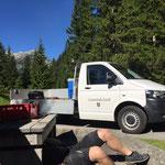 Reparaturarbeiten Wasserspielpark Waldbad