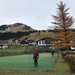 Zaunabbau Tennisplatz Hotel Arlberg