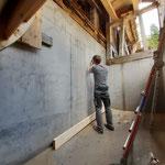 Restaurierungsarbeiten Zuger Säge