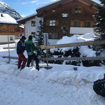 Geländererhöhung montieren Gipsbach Oberlech