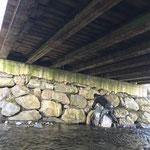 Hochwasserüberlaufdeckel entfernen, Zürsbach