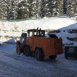 ...mit anschließender Schneeräumung, Rolba 600