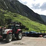 Rohrlager Bauhofdach fertig
