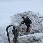 Gulli ausschaufeln Oberlech Spitzenegg