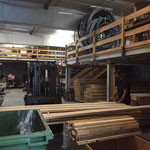 Optimaler Mond: Holz lagern am Bauhof