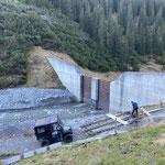 Schafalptobelbrücke Wanderweg Zürs-Lech sanieren