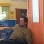 Skifahren macht müde!